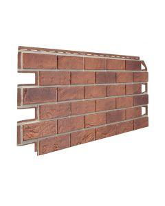 Bristol Brick Effect Garden Wall Cladding Red