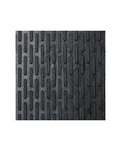 1.2cm Rubber Scraper Mat (90cm x 1.5m) Black