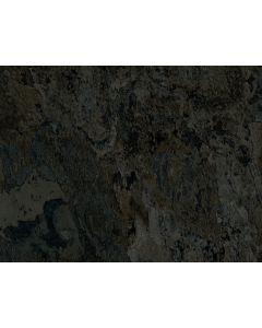 Clever Click Plus Ocean Slate Tile Effect Vinyl Flooring Black