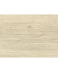 Clever Click Plus White Wash Pine Wood Effect Vinyl Flooring Cream, Brown