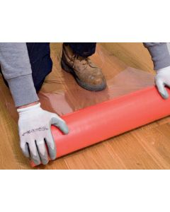 Guardian Hard Floor-Surface Red 60cmx25m Red