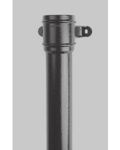 """2.5"""" Cast Aluminium Round Pipe"""