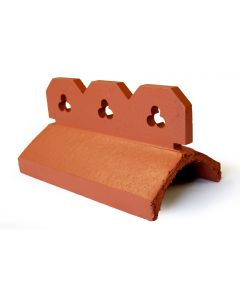 Club Crested Ornamental Ridge Tile 450mm