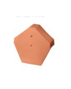 Dura Red Gable Ridge End - Red