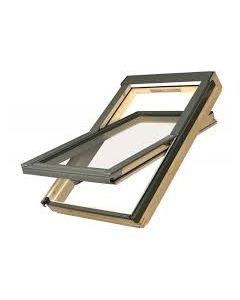 FAKRO - Pine Centre Pivot Window