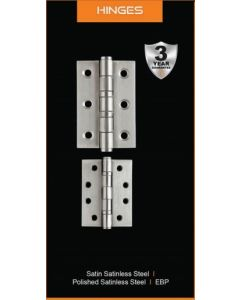 Fortessa Stainless Steel Hinges