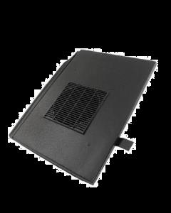 G5 Vent Condron Flat Tile - Black