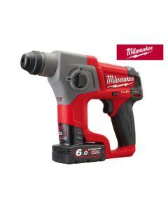 Milwaukee M12 CH-602X FUEL SDS Plus Hammer