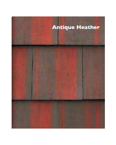 Morrisey Millford Flat Concretre Roof Tile - Antique Heather