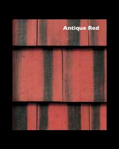 Morrisey Millford Flat Concretre Roof Tile - Antique Red