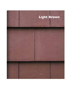 Morrisey Millford Flat Concretre Roof Tile - Light Brown