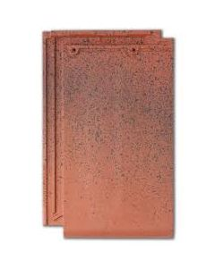 Planum Smooth Clay Tile ((11 per sq m / L: 440mm; W: 280mm; H: 32mm) RED