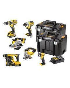 DEWALT DCK699M3T XR 6 Piece Kit
