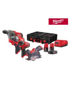 Milwaukee M12 FPP4A-622P PACKOUT™ Kit