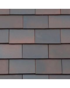 "Rosemary Clay Classic Plain Tile 10""x6"" (Red,Light Mixed Brindle, Medium Mixed Brindle, Blue Brindle)"