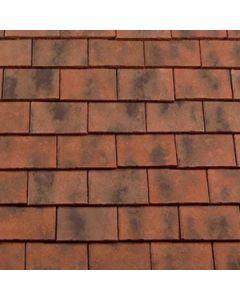 "Rosemary Clay Craftsman Handmade tile 10"" x 6"""
