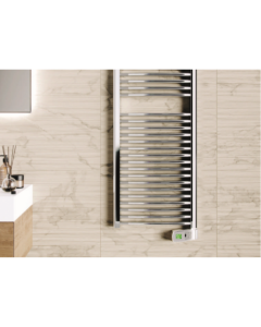 Rointe Sygma Digital Chrome Towel Radiator 1000w