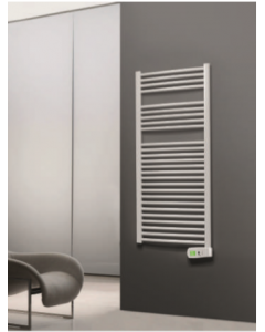 Rointe Sygma Digital White Towel Radiator 500w