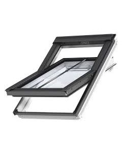 Velux Centre Pivot White Painted GGL Intergra Electric