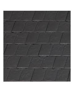 Visum 3 Clay Tile (11.5 per sq m / L: 280mm; W: 471mm; H: 35mm) BLACK
